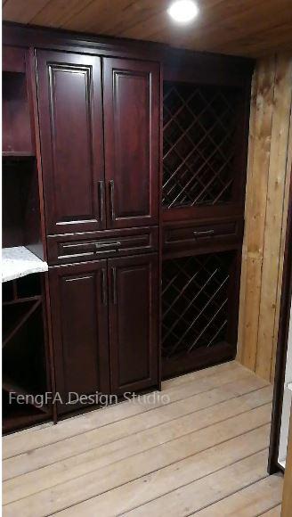Black cabinets Design