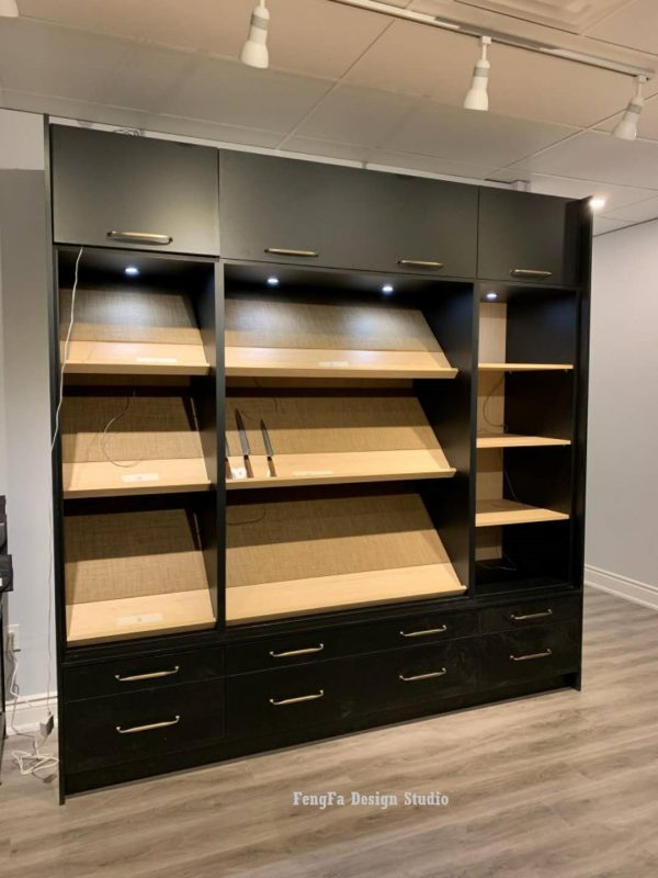 Contemporary built-ins cost