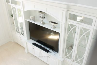 White built-ins Vaughan
