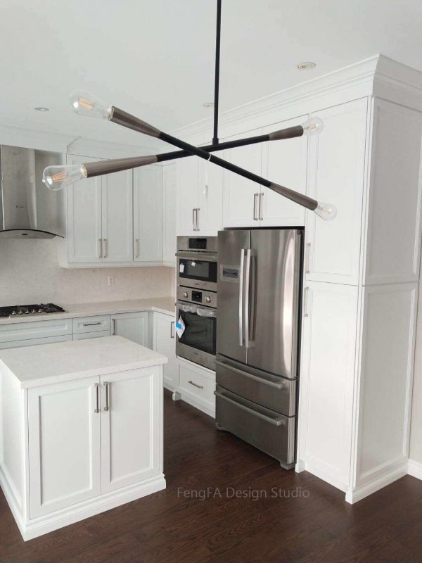 White built-ins cost