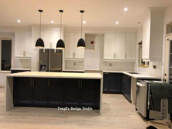 Gray cabinets Richmond hill