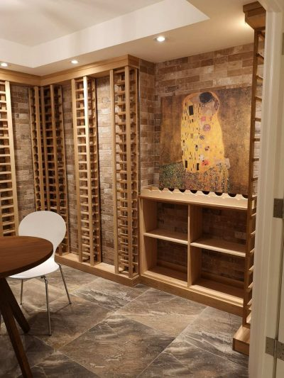 custom wine cellar design Toronto