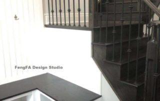 Customized Sitting Stool with Shoe Storage Underneath