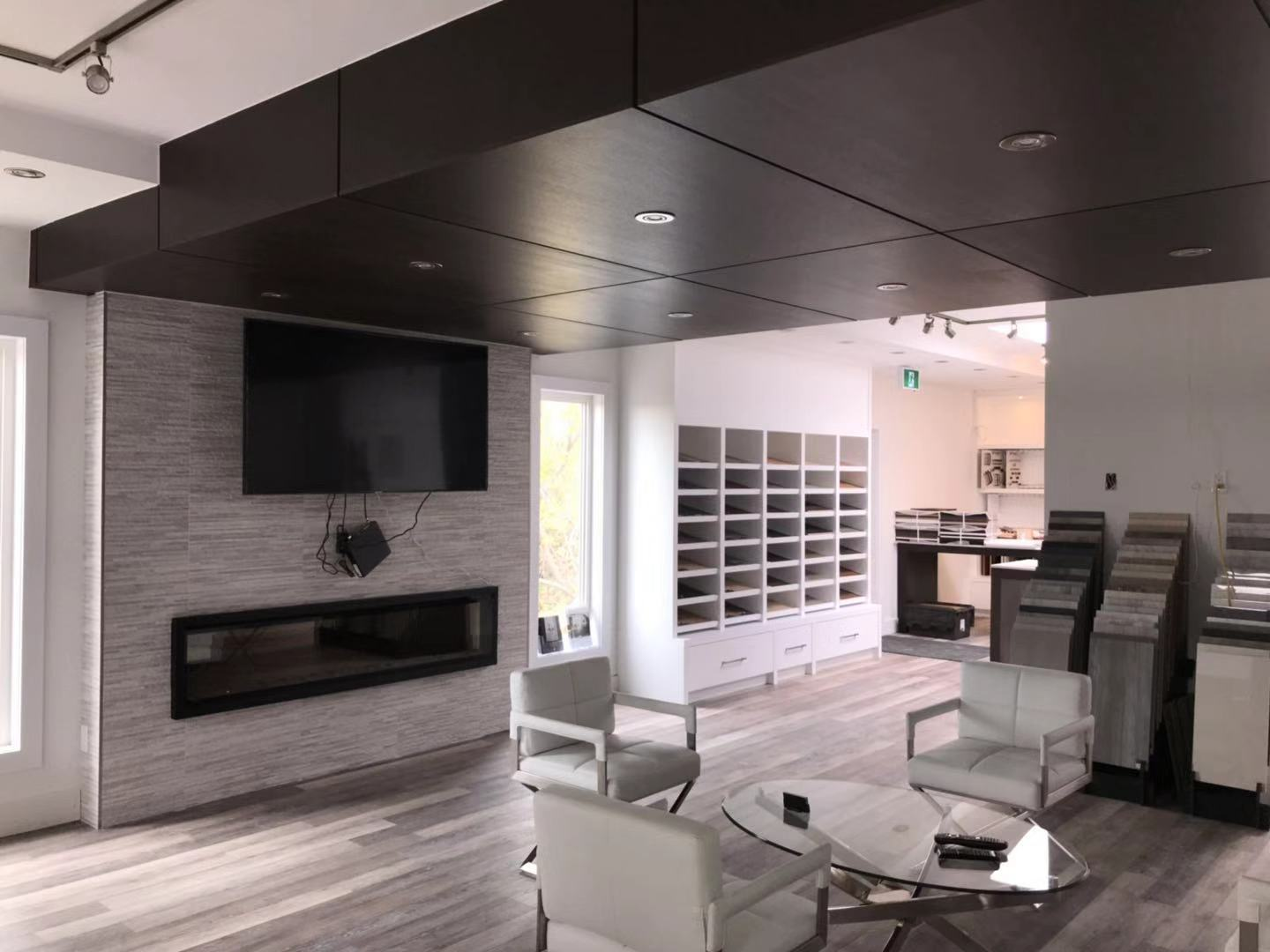 Wall Display Cabinetry