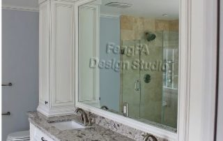Manhattan Style Doors with Duo Side Post Cabinets