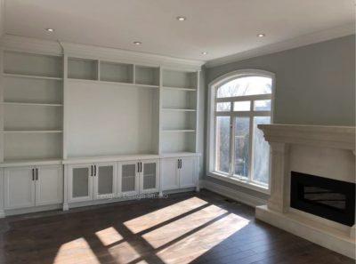 White built-ins Toronto