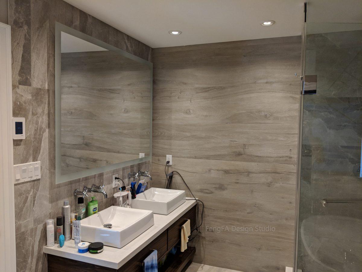 bathroom built-ins Vaughan