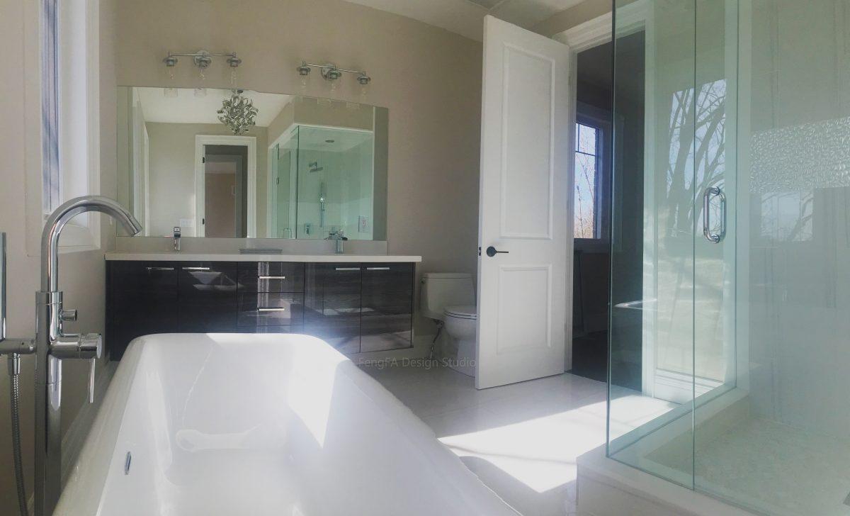 High gloss vanity Design