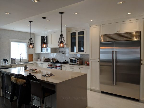 White cabinets cost