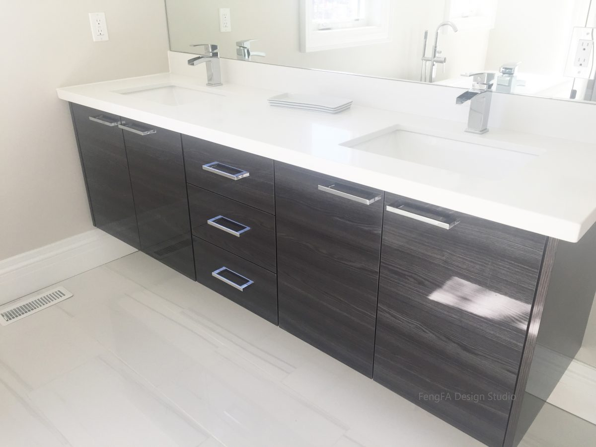 High gloss cabinets Design