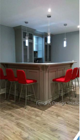 Dark cabinets Design
