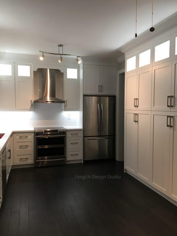 White pantry Design