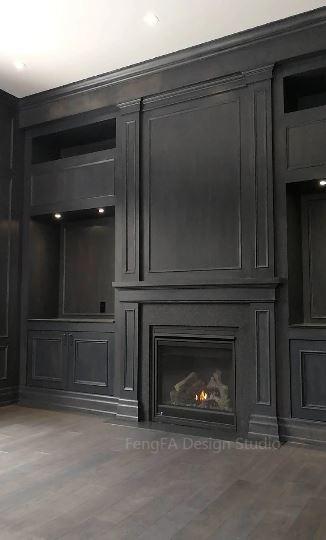 Dark cabinets Markham