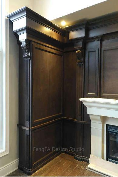 Dark cabinets Toronto