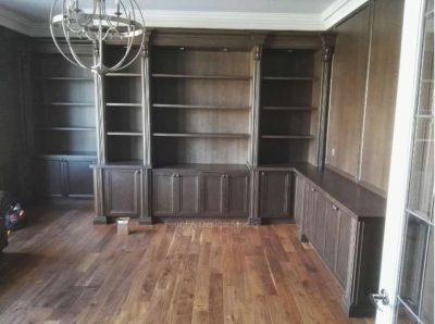 Dark cabinets Vaughan