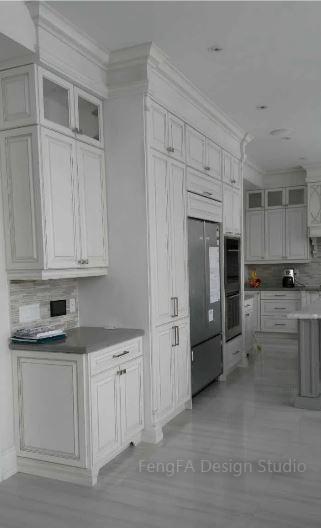 White cabinets Richmond hill
