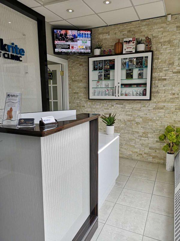 custom office reception